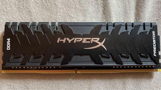 Оперативная память Kingston hyperx predator ddr 4 8 gb 3000 mhz