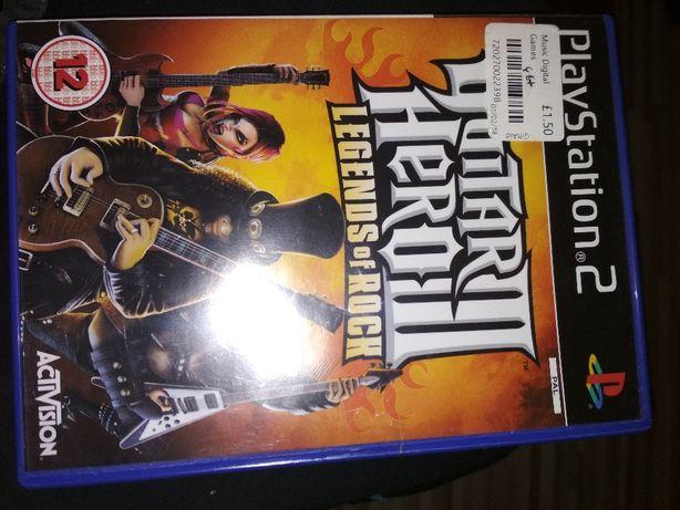 Gra na playstation 2 Guitar Hero III legends of rock