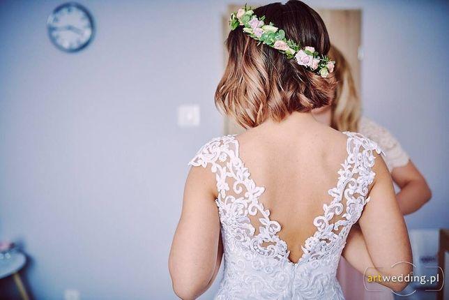 Suknia ślubna r. 36 DO NEGOCJACJI