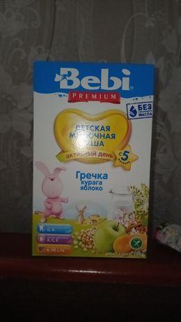 Молочная каша Bebi premium гречка,курага,яблоко