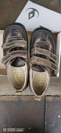 Ортопедические туфли-макасины на мальчика TIGINA р. 34