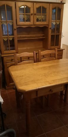Mesa + Cadeiras + Aparador Sala Jantar