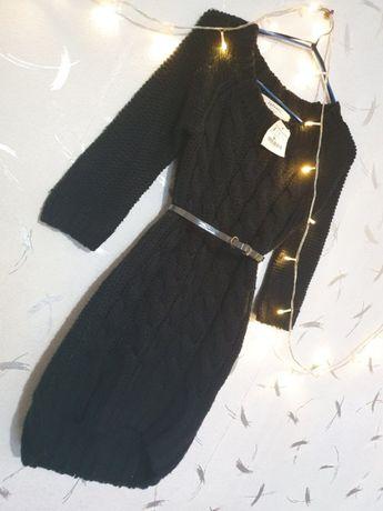 Вязаное платье Zara размер S
