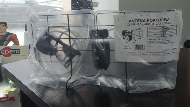 Antena DVB-T pokojowa ze wzmacniaczem i zasilaczem Eltrox