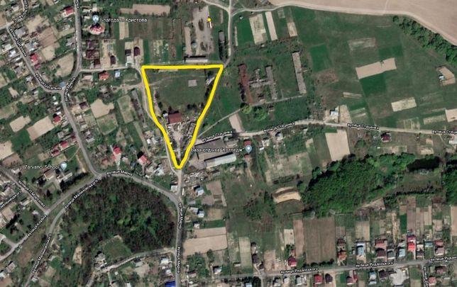 Продам земельну ділянку під виробництво с. Зарванці