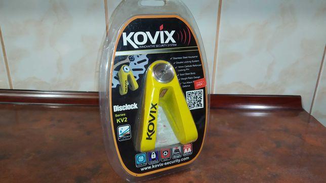 Мотозамок на тормозной диск KOVIX KV2