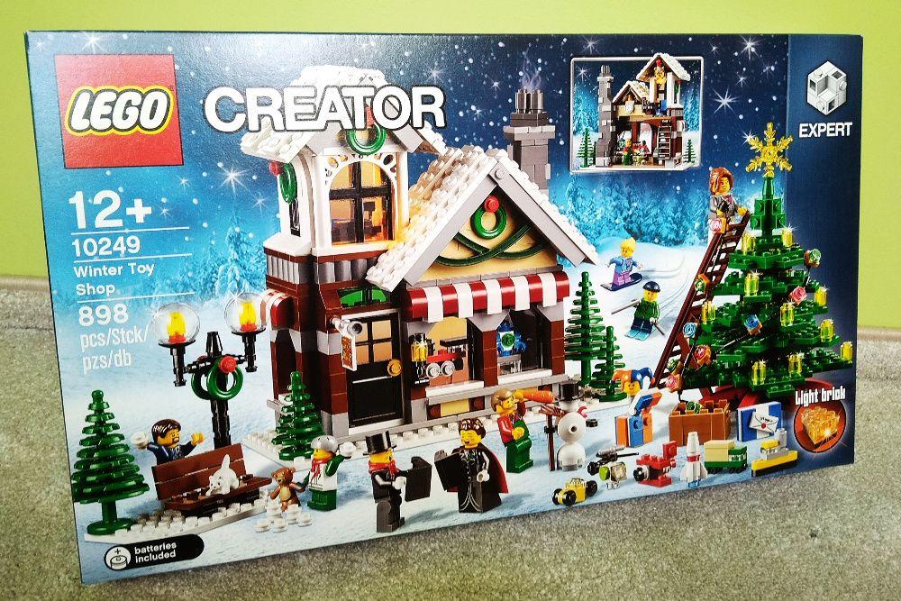 NOWE LEGO 10249 Winter Toy Shop Zimowy Sklep z Zabawkami Jelenia Góra - image 1