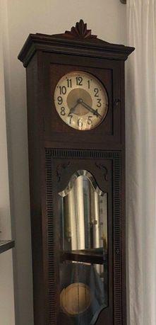 Stary zegar stojący Kieninger KG, z lat 20-tych