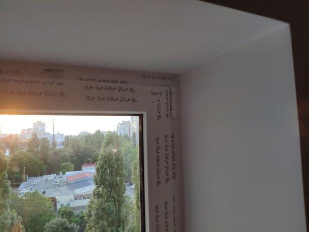 Откосы на окна и двери поклейка обоев