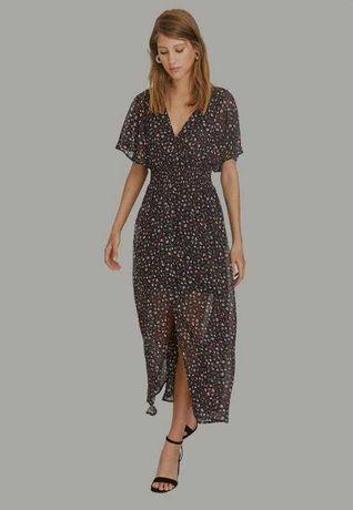 Идеальное платье миди макси цветочный принт из сайта asos