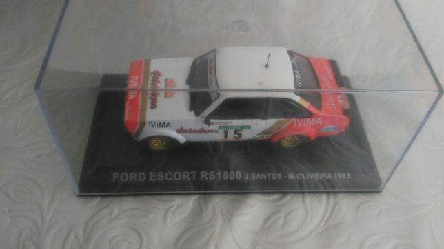 Ford Escort de J.Santos e M.Oliveira 1983