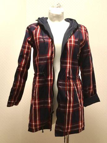 Dwustronny płaszcz, parka