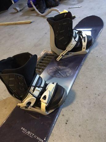 Deska snowbordowa + buty OKAZJA!!