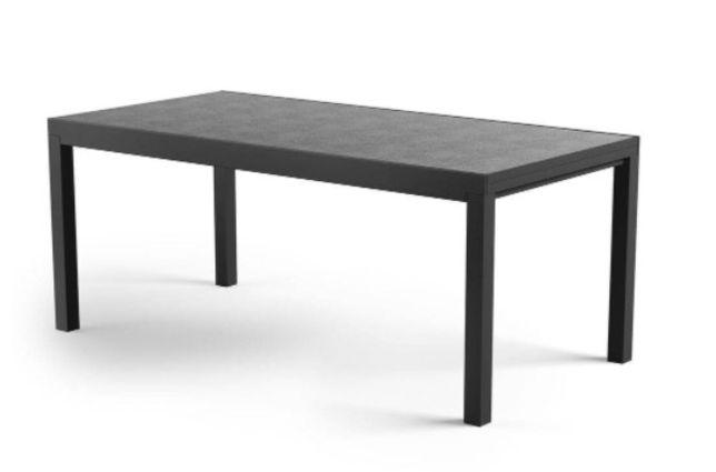 PROMOCJA -15% Stół og. rozkładany TOLE 180-240x100x75cm szary/biel/ant