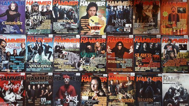 музыкальные журналы о рок музыке METAL HAMMER и другие