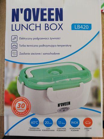 Elektryczny podgrzewacz żywności lunch box n,oveen Lb420