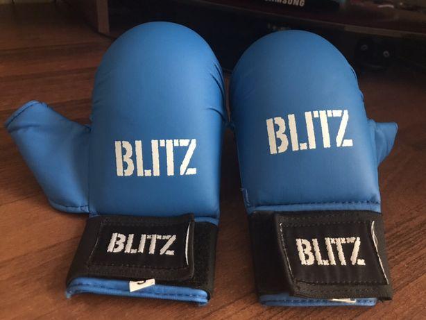 Боксерские перчатки с пальцем ММА накладки для каратэ НОВЫЕ