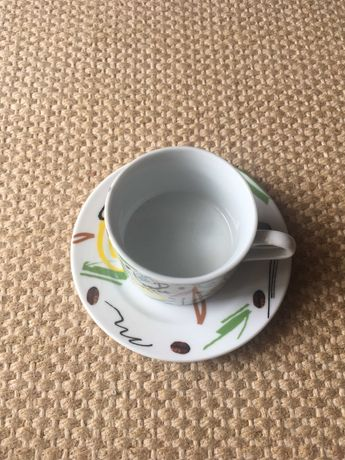 Serviço de café NOVO com 18 chávenas