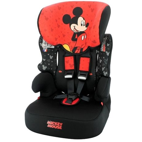 Cadeira Auto 1/2/3 Mickey - NOVA