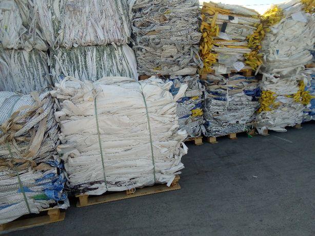 Worki Big Bag Uzywane 90/90/140cm do zbóż pasz nawozów solidne 1000kg