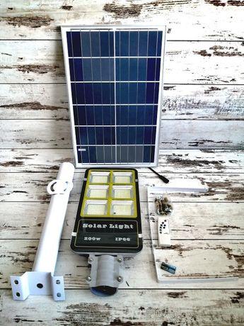 Solarna Lampa Uliczna OGRODOWA 200W IP66