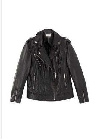 Кожаная куртка для девочек LIPSY