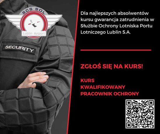 Kurs Kwalifikowany Pracownik Ochrony-Lublin, Świdnik