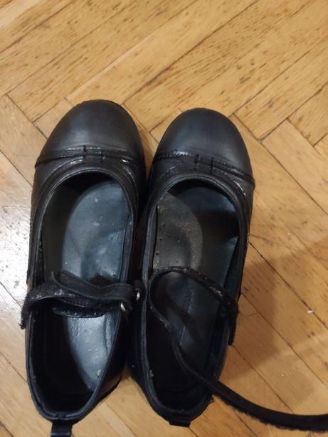 Туфли школьные для девочки, ортопед, кожа , 29р