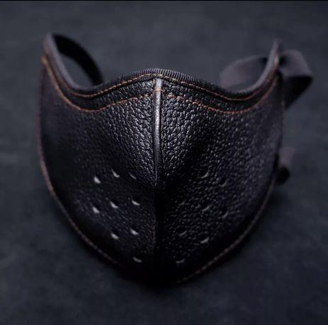 Maska motocyklowa antysmogowa + COVID