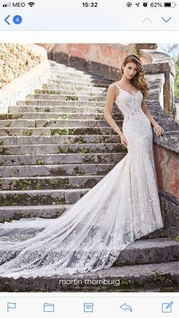 Vestido de noiva martin thornburg (novo)