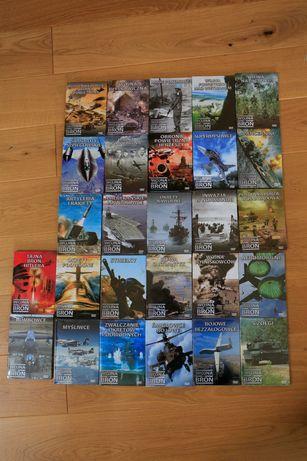 Wojna i Broń DVD seria, kolekcja 27 sztuk nowe