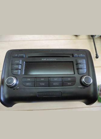 Molas de origem /rádio original e difusor do modelo audi tt 8j mk2