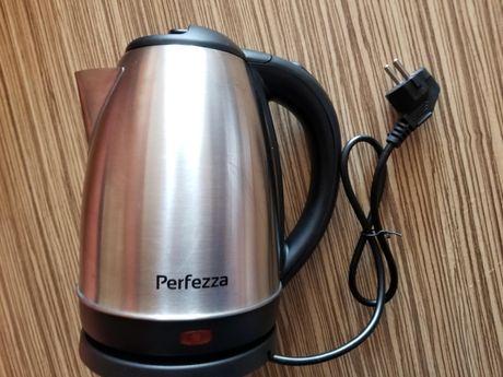НОВЫЙ Электрический чайник Perfezza PFS-003 / 1,8 л / 1500 Вт / сталь