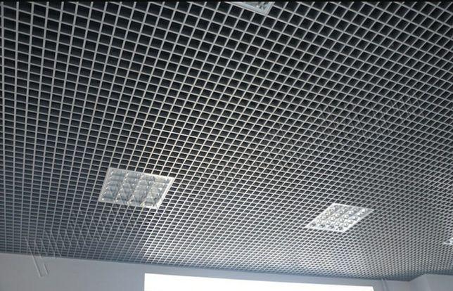 Потолок грильято. Подвесной потолок Армстронг грильято