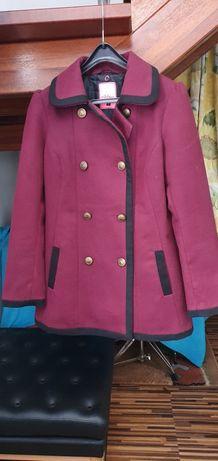 Płaszcz  dwurzędowy retro