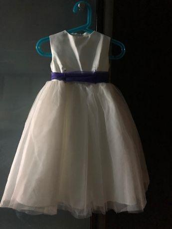 Sukienka wizytowa, chrzest 1-1,5 roku