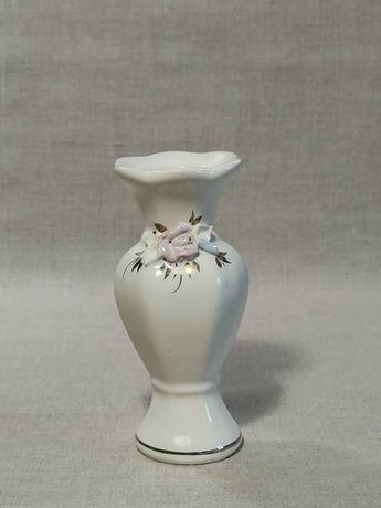 Маленькая ваза вазочка фаянс фарфор 13,5 см СССР кувшин графин посуда