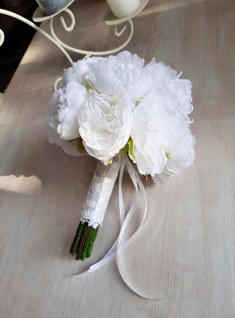 Букет-дублёр, букет невесты, искусственные пионы