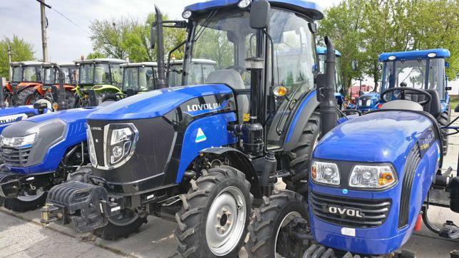 Міні трактор ловол Lovol 244 354 454 504 від ІМПОРТЕРА, гарантія 2р
