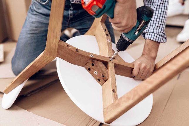 Сборка мебели любой сложности Разборка и обратная сборка