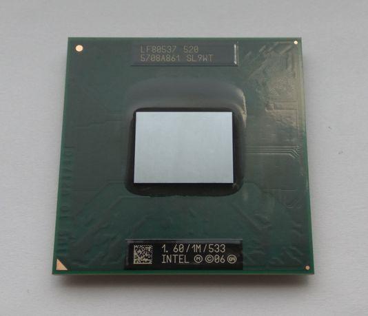 Процессор Intel Celeron M 520 1600MHz