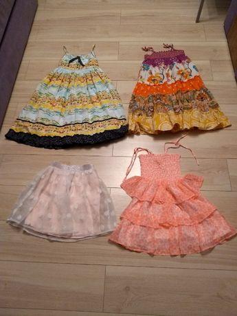 Suknia sukienka sukienki h&m next 7 8 9 lat 134 128 piekne