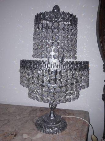 candeeiros mesinha cristal