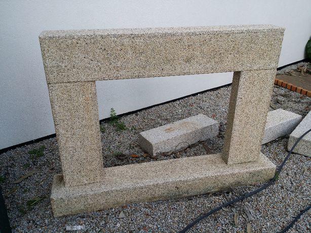 Lareira em pedra