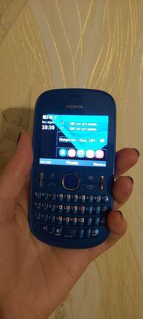 Телефон Nokia Asha 200 Blue. Состояние хорошее.Рабочий.В ремонте не бы