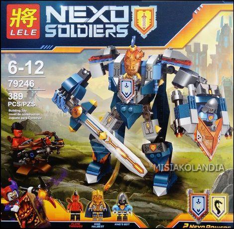 Klocki dla chłopca NEXO SOLDIERS