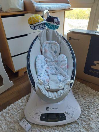 Укачивающий центр 4 moms mamaRoo 4.0  + вкладыш для новорожденного