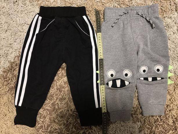 Спортивные штаны теплые, 12-18 месяцев
