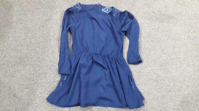 Sukienka z kieszonkami, rozmiar 98, ubrana raz
