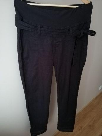 Idealne na lato lekkie spodnie ciążowe H&M Mama